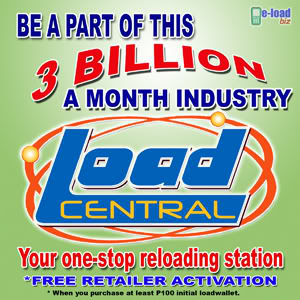 loadcentral retailership free activation