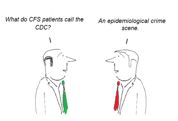 cdc, cfs, chronic fatigue syndrome, cartoon, epidemiology