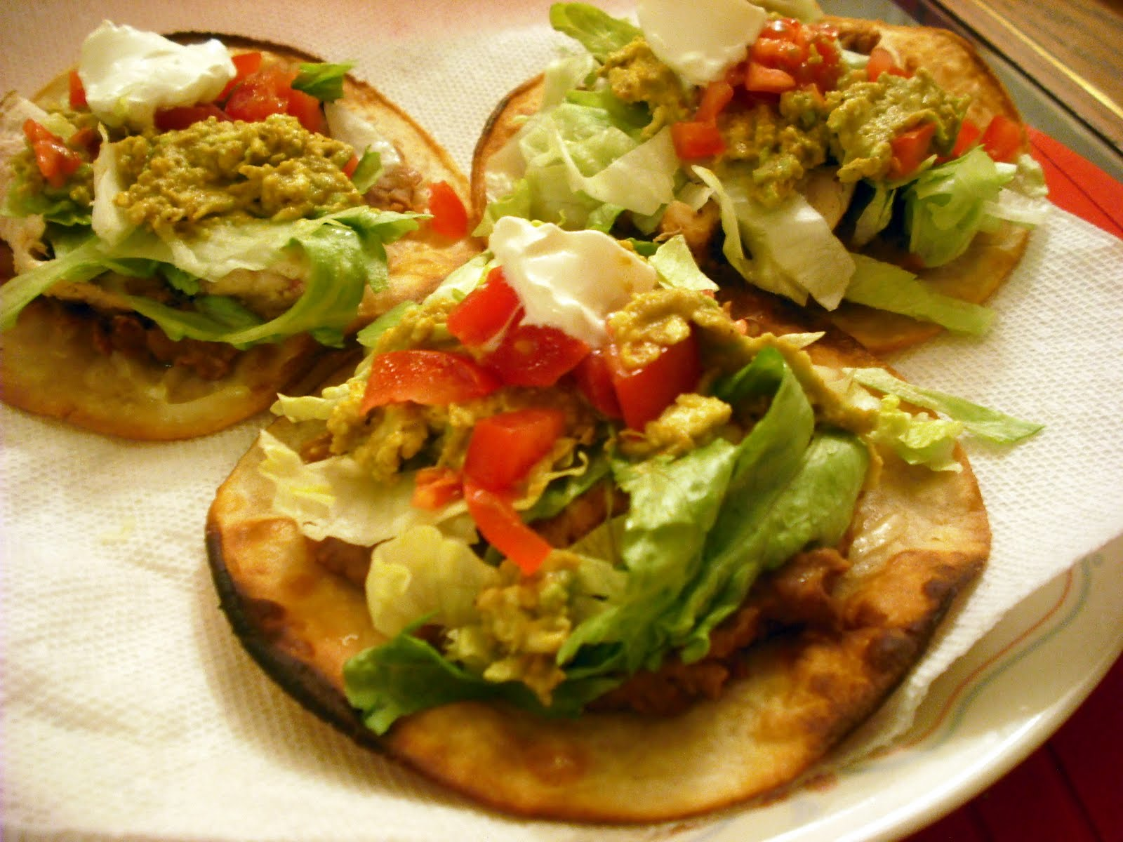 Food Judicata: Chicken Tostadas