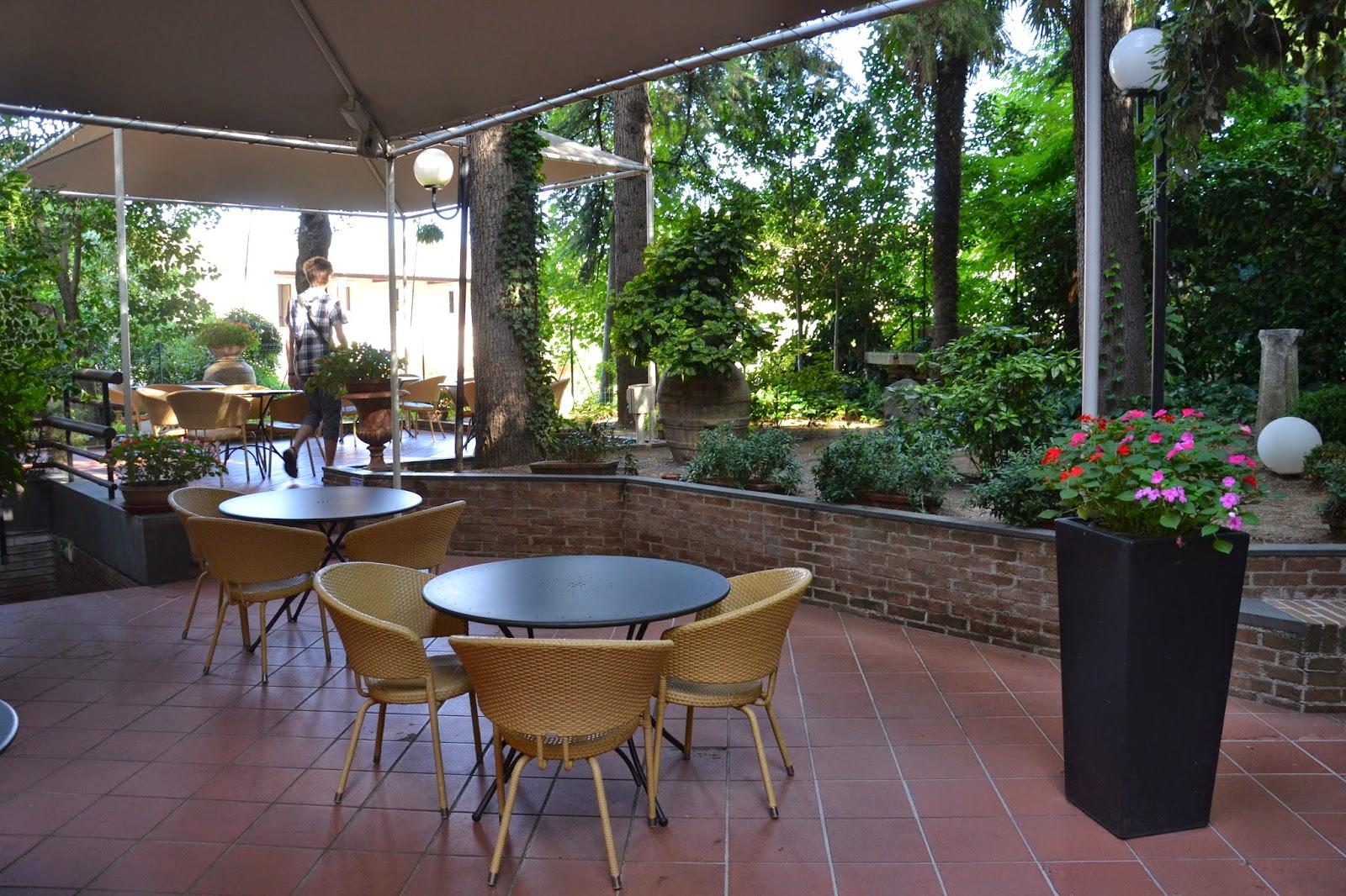 Terrasse hotel I Ducchi