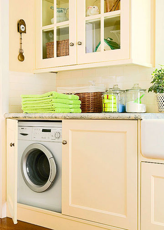 New Home Interior Design Laundry Rooms