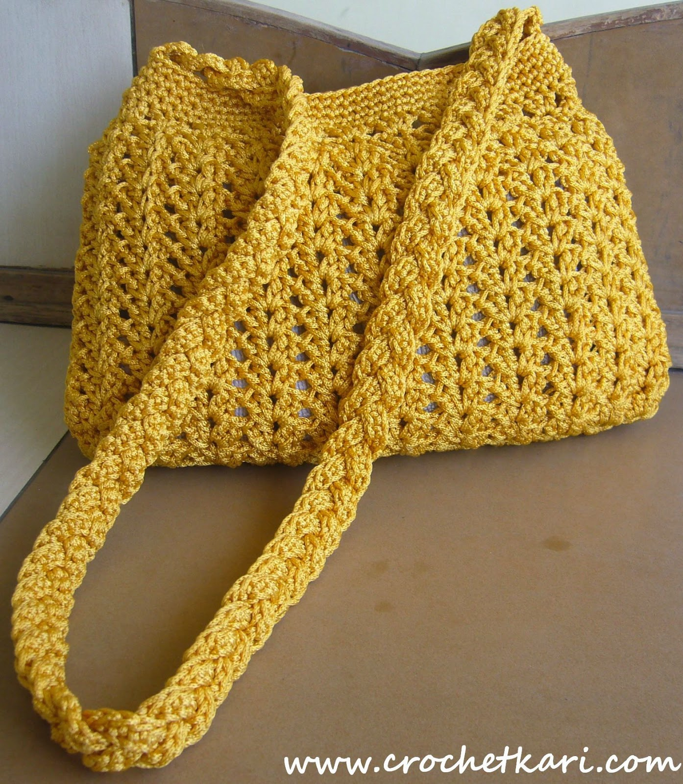 crochet purse with free pattern