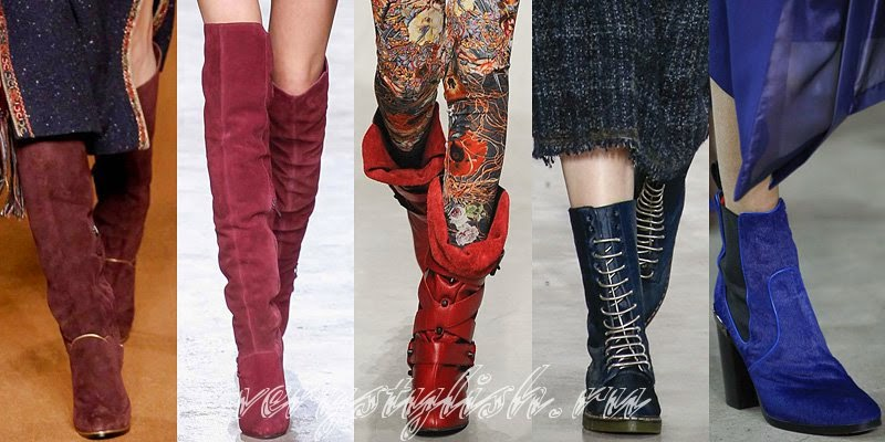 Women's Winter 2015 Boots Fashion Trends