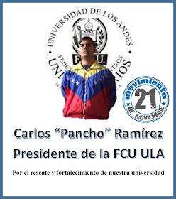 PANCHO A LA FCU -ULA
