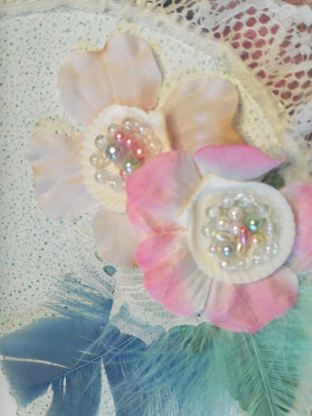 Shell flowers from The Pearl Mini album