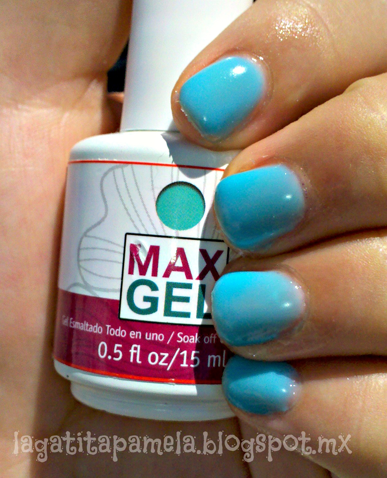 Pamela\'s Nails: Republic Nail Max Gel nail polish- Esmalte de gel ...