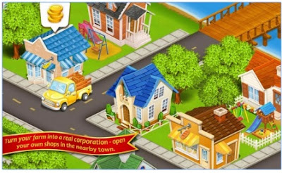 Game Simulasi Peternakan Android Farm Town MOD APK