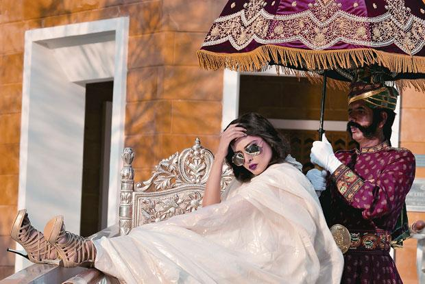 glamour queen rekha shoot hot images