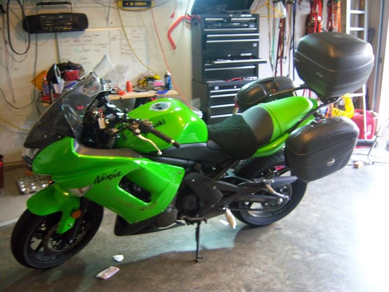Modif Kawasaki Ninja 650 Touring
