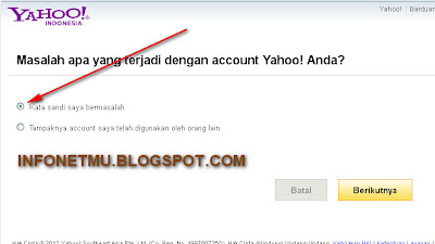 LUPA PASSWORD YAHOO Cara Follback di Twitter