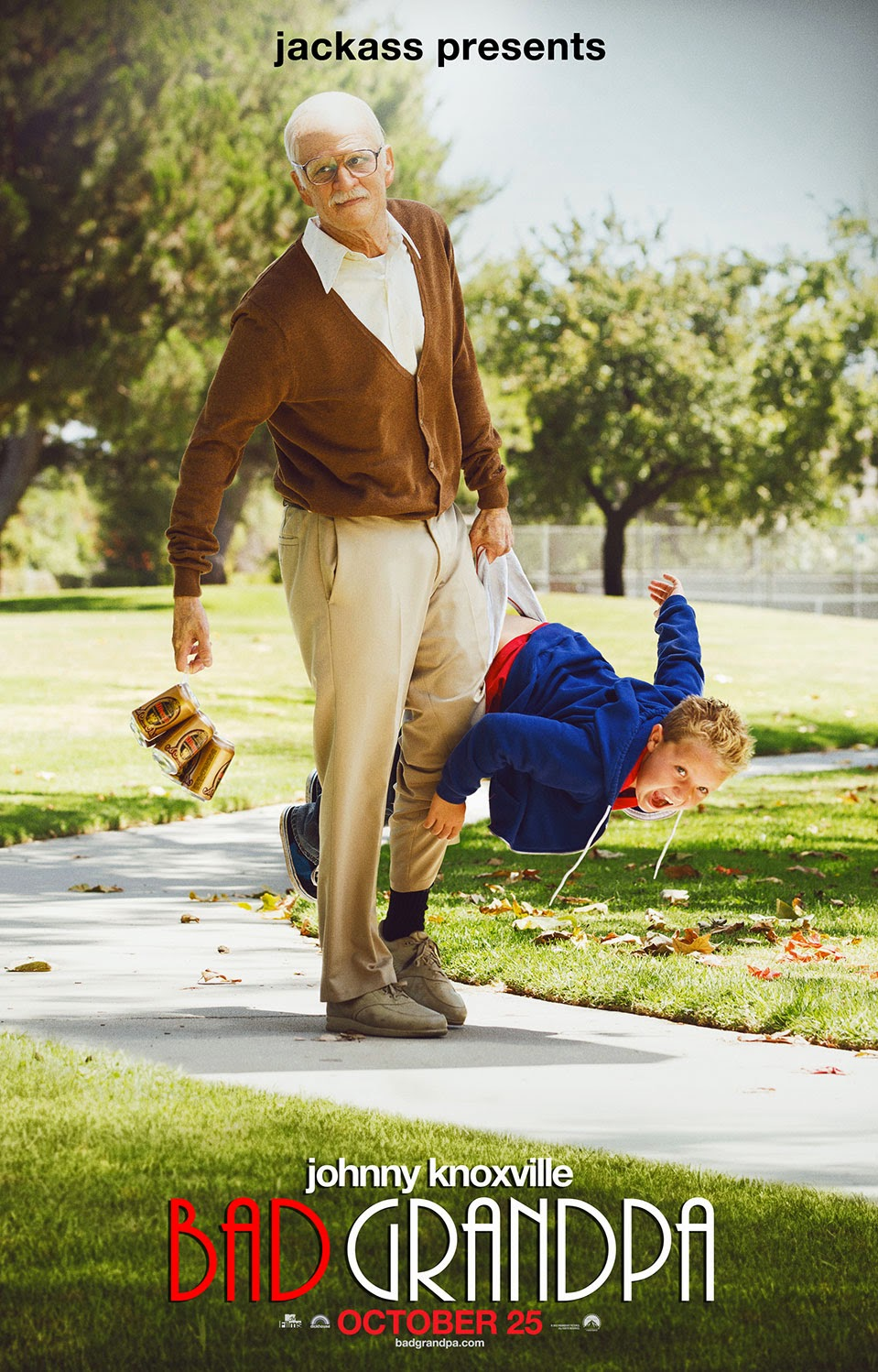 Ver Jackass Presents: Bad Grandpa (2013) Online