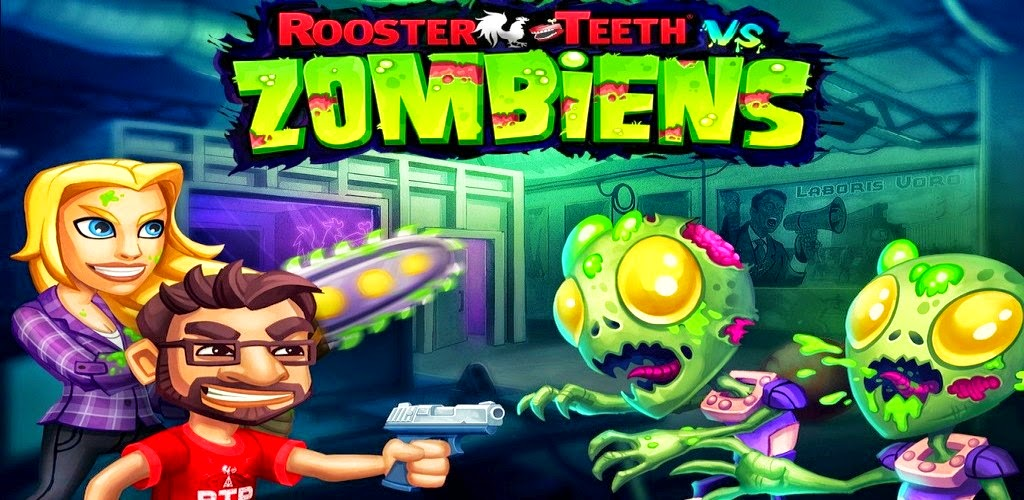 Download Rooster Teeth vs. Zombiens Apk + Data