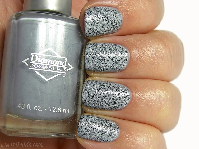El Corazon Confetti 530a over Diamond Cosmetics Concrete Jungle