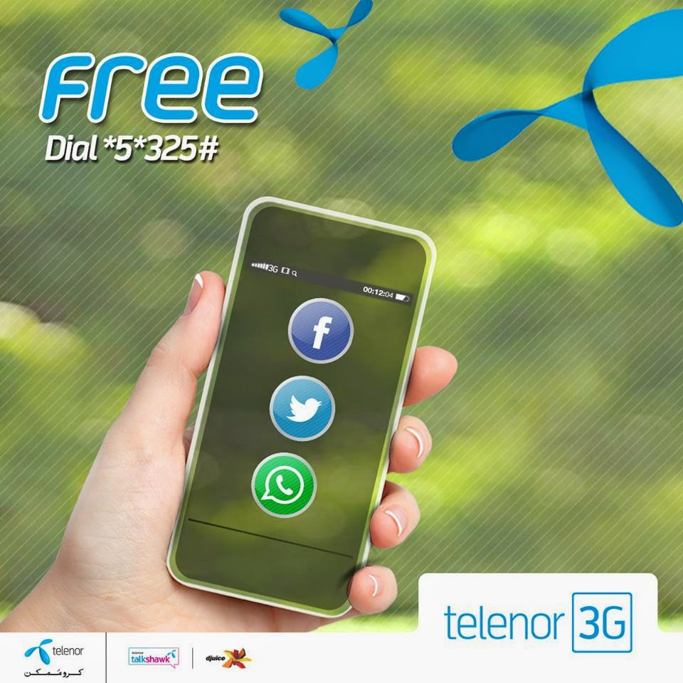 How To Use Free Facebook Twitter Whatsapp By Telenor Sim