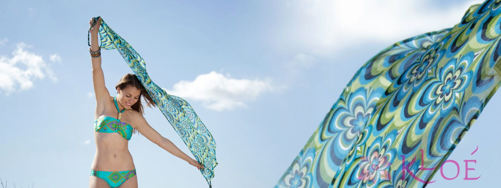 Cool bikinis and chic beachwear collections from Kloé Beach.