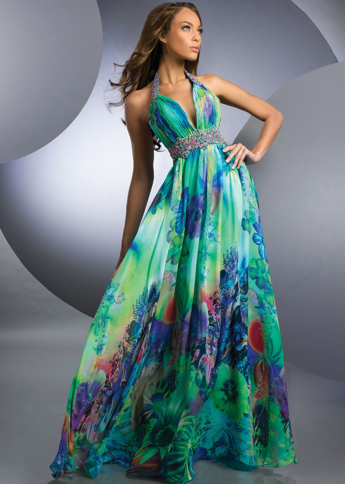 Luxury Women Best Evening Dress Collection 2013
