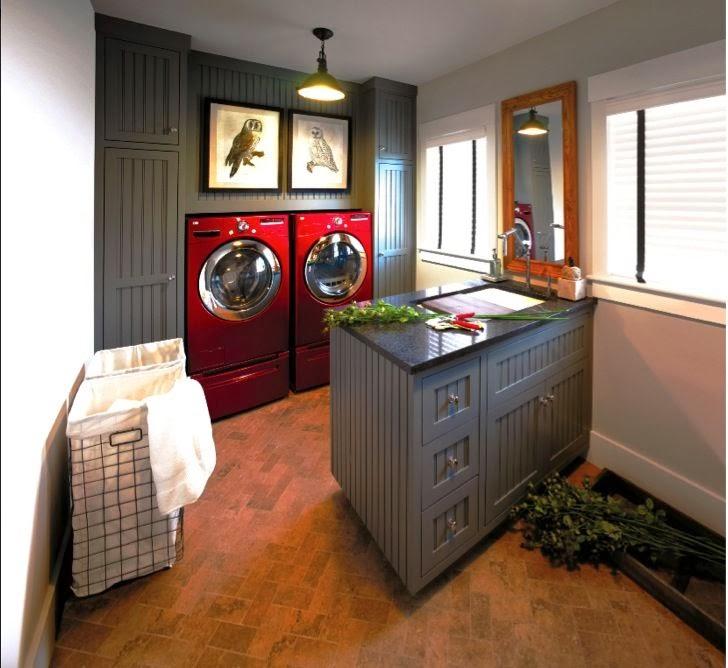 Mrs Peeks Farmhouse Beautiful Laundry Rooms