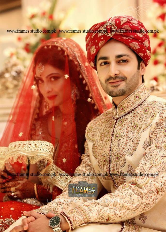 Aiza Khan And Danish Wedding Pics Barat Special Just Bridal