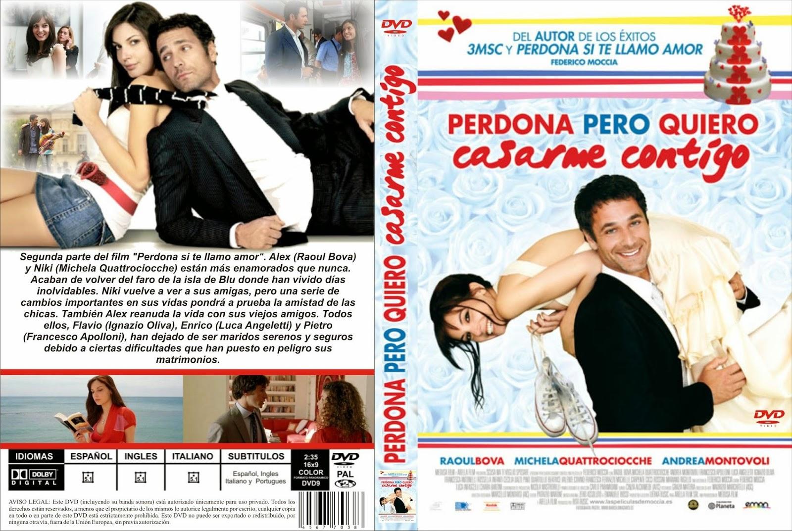 Perdona Pero Quiero Casarme Contigo DVD