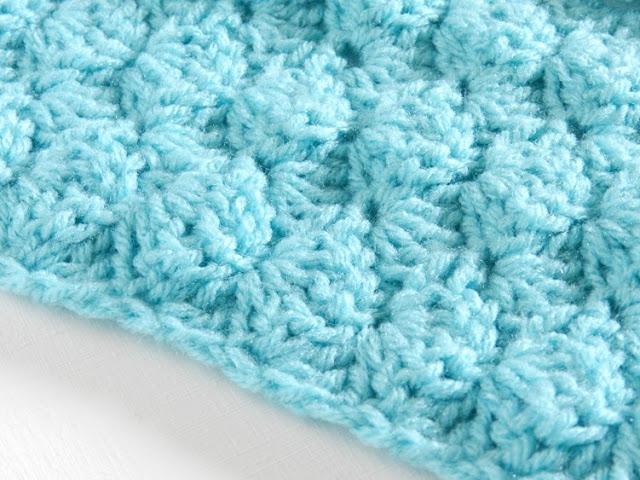 Shell Stitch Crochet Infinity Scarf