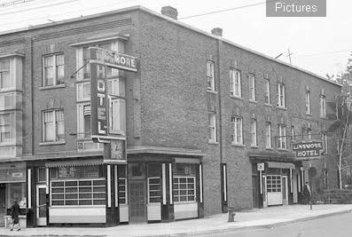 The Linsmore Hotel Danforth circa 1940.