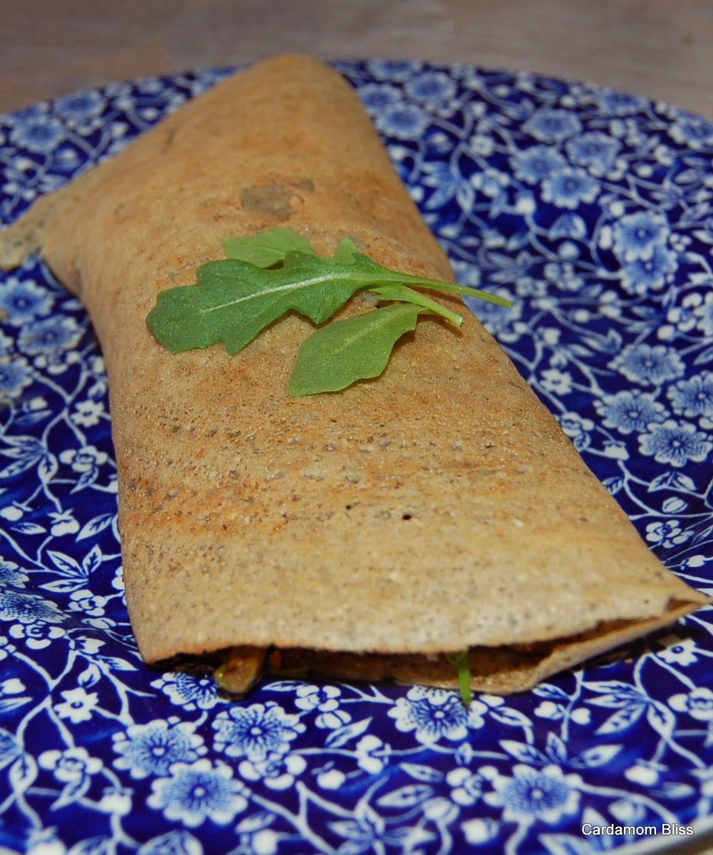 a healthier masala dosa
