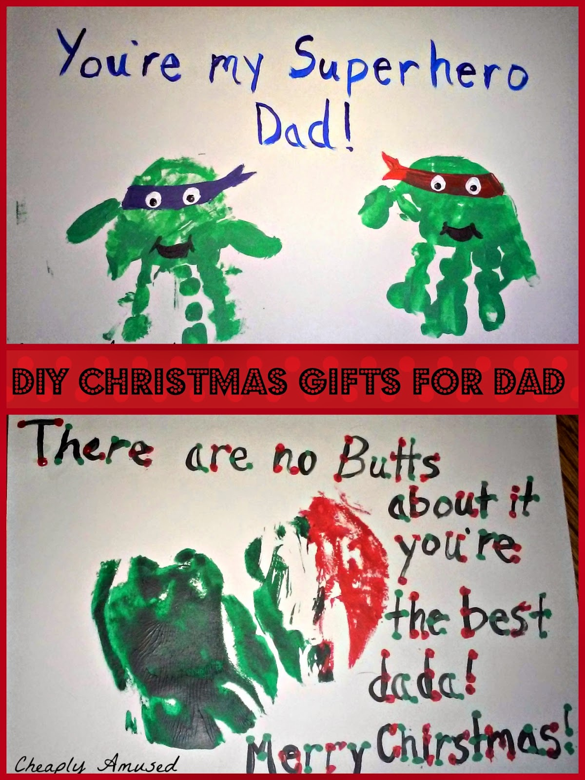 Cheaply Amused: DIY Christmas (or anytime) Gifts for Dad