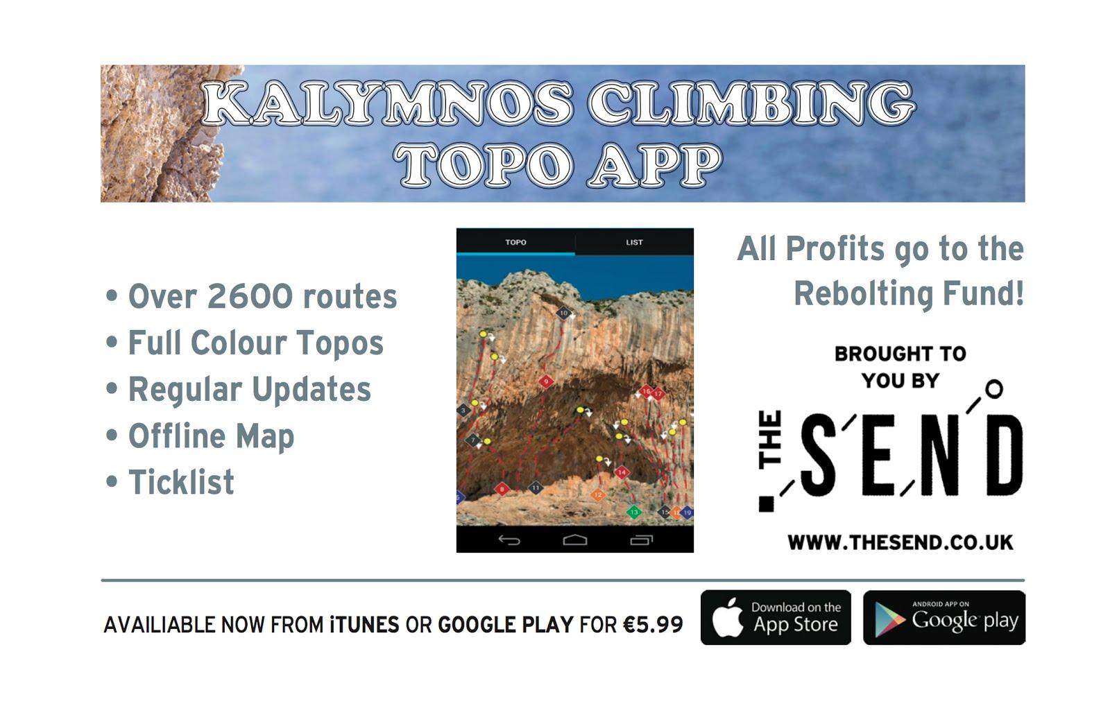 Kalymnos Climbing Topo App