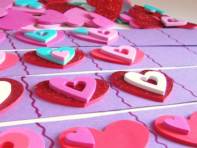 FUN FOAM VALENTINE PATTERNS