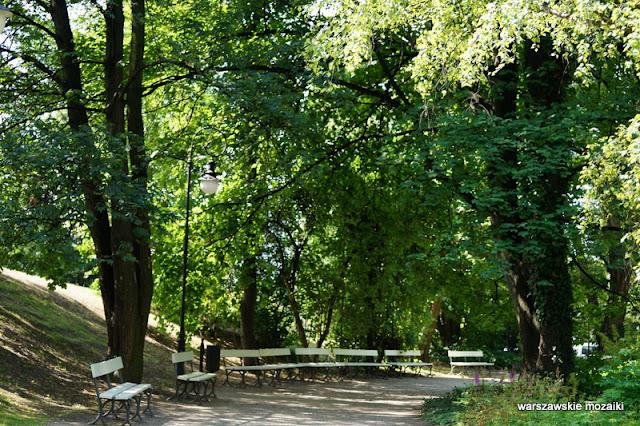 teren zielony Warszawa Ujazdów Warsaw Śródmieście parki warszawskie alejka