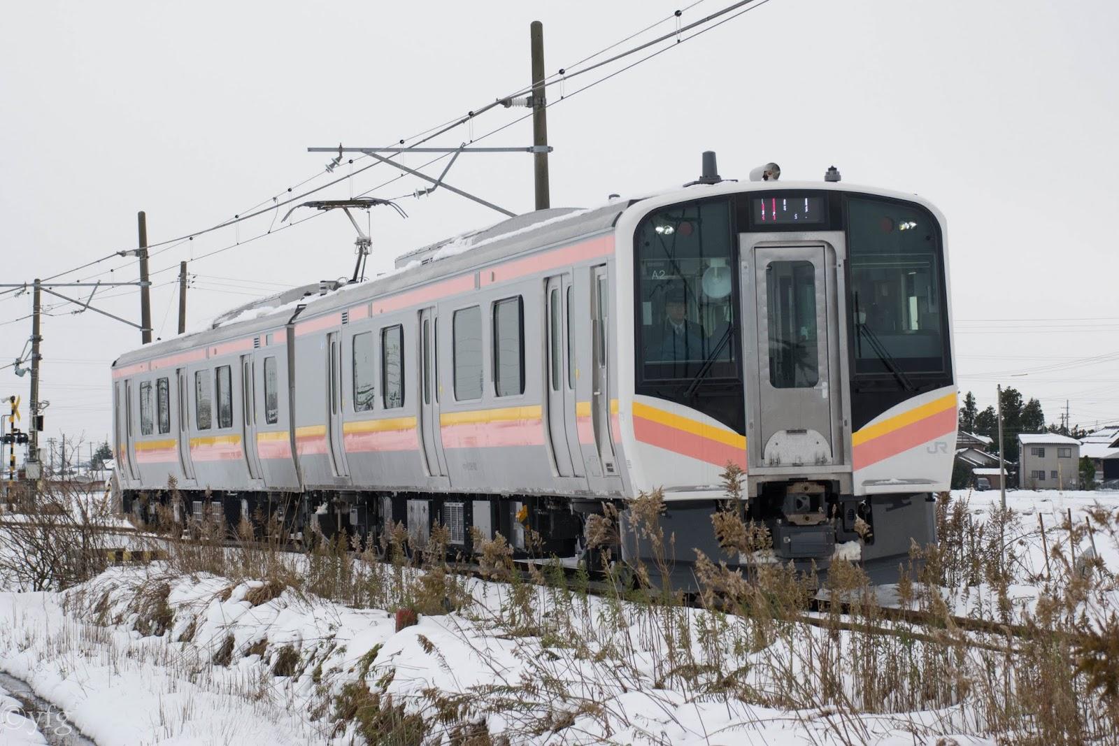 鐵道単見: E129系 in 越後線