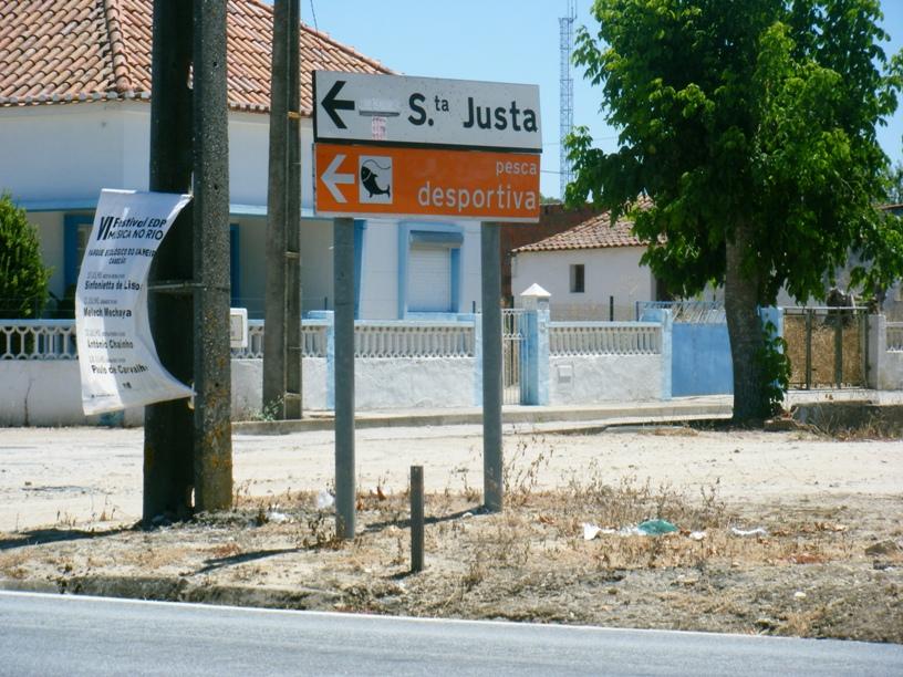 Placa Santa Justa