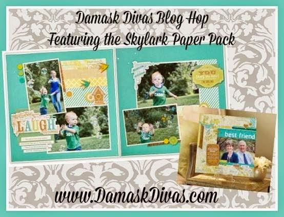 Damask Divas Blog Hop Skylark