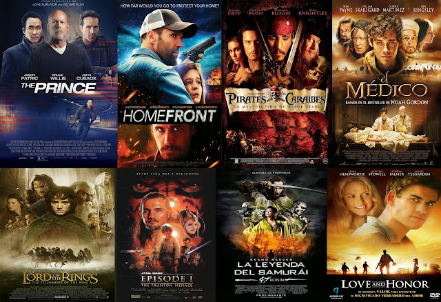 Carteles de cine actual 3