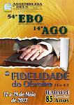 54ª EBO E 14ª AGO