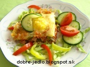 Vaječný zapekanec - recept