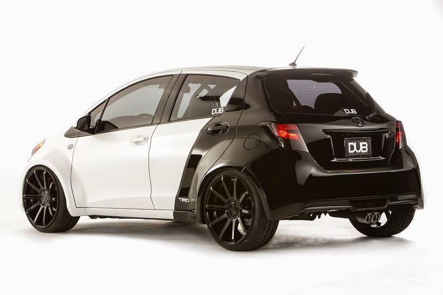 Toyota Yaris DUB Edition (2015) Rear Side