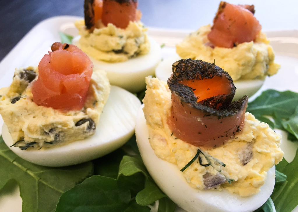 Smoked Salmon Deviled Eggs Recipes