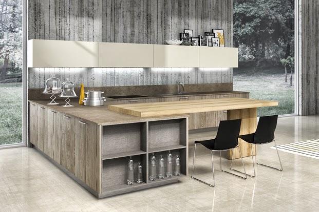 Dise os en pen nsula una alternativa funcional cocinas con estilo - Cocinas con peninsula ...