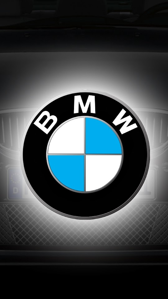 BMW Logo Grey Blue Car  Galaxy Note HD Wallpaper
