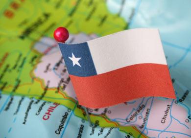 Mapas de chile mapa politico de chile actualizado sciox Choice Image