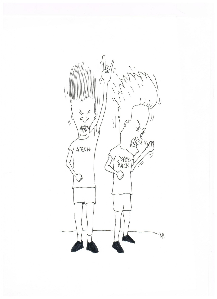 Adult Beauty Beavis And Butthead Coloring Pages Gallery Images cute beavis and butthead coloring pages for kids head sketch template tutorial image source sketchite view larger gallery images