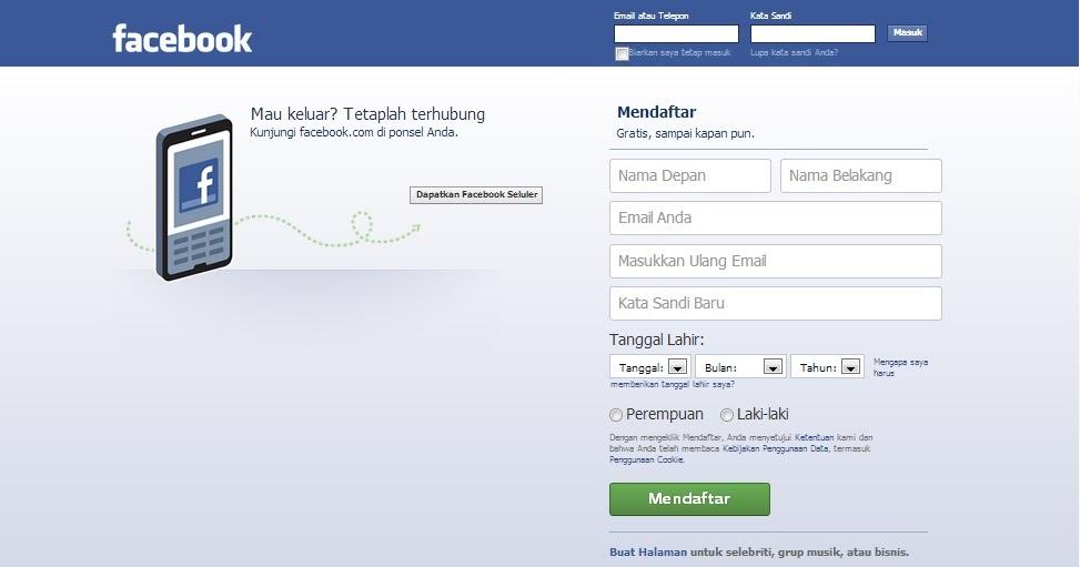 Cara membuat facebook lengkap 2013   Budi Aprianto