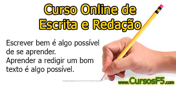 Curso Online de Escrita e Redação