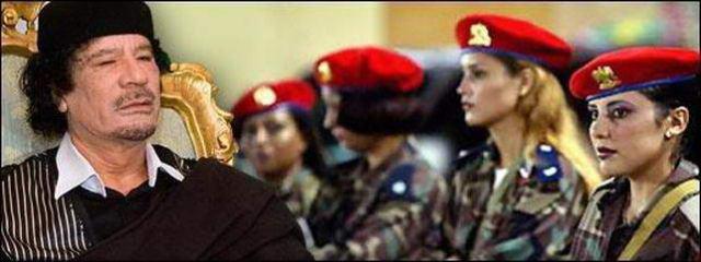 muammar algaddafi female bodyguards 14 Foto foto 40 Perawan Pengawal Pribadi Muammar Qadhafi