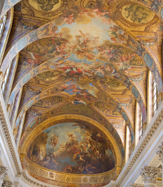 Life of a lil notti monkey palace of versailles france Rules for painting ceilings