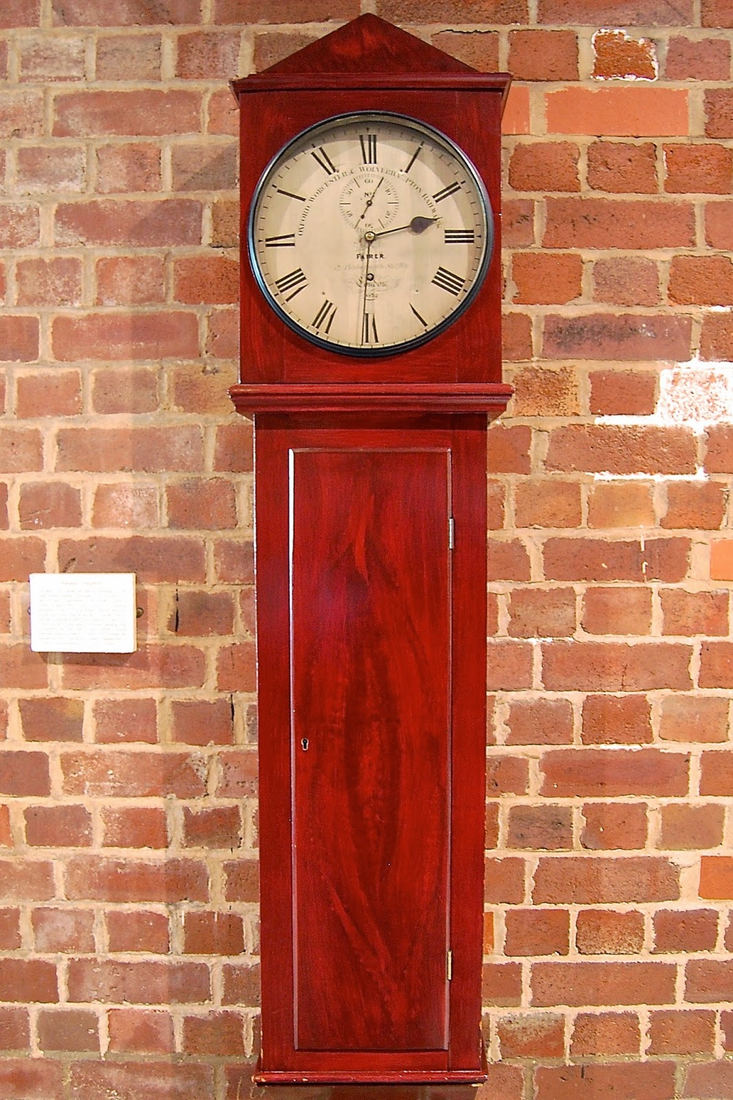 1850 clock used on the Great Western Railway for more than 100 years