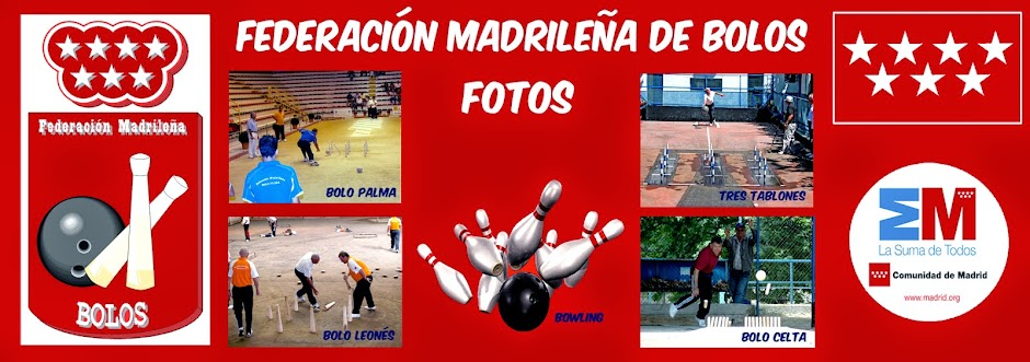 FEDERACION MADRILEÑA DE BOLOS