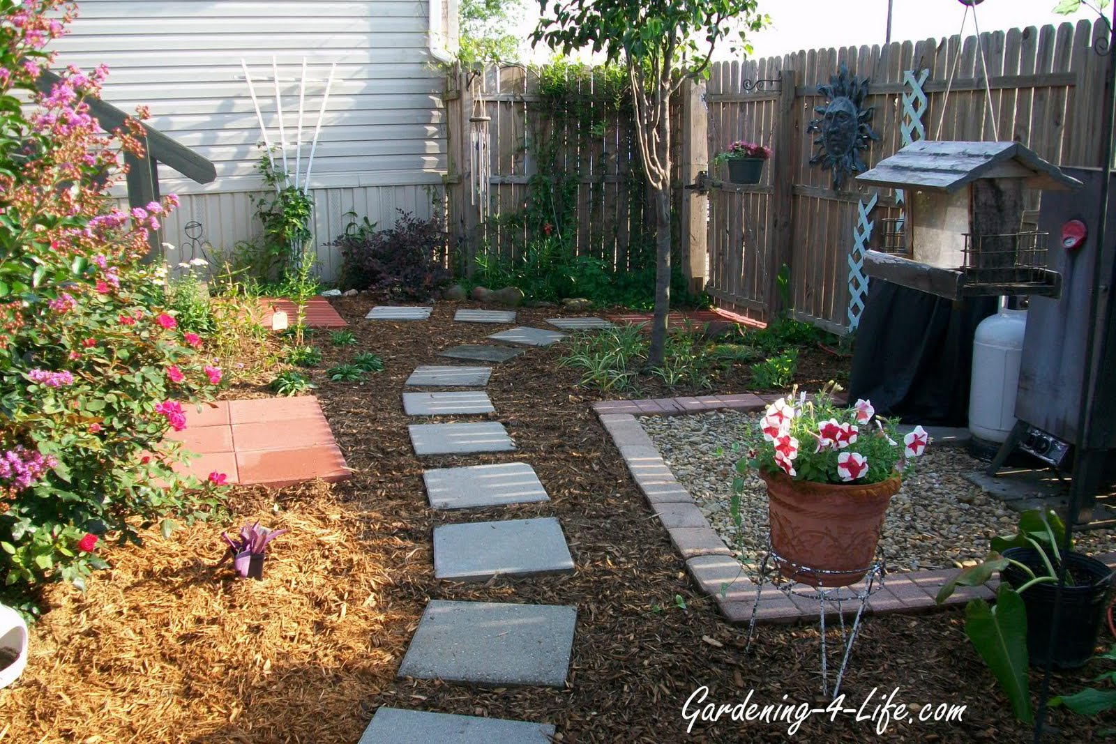 Gardening 4 Life Backyard Makeover
