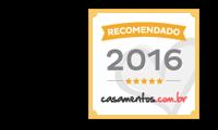 Empresa recomendada pelo maior site de casamentos do Brasil